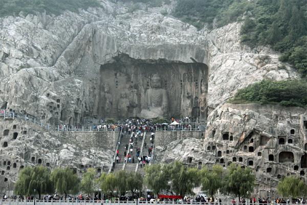 grottes Longmen luoyang henan