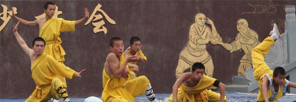 temple shaolin kung-fu henan