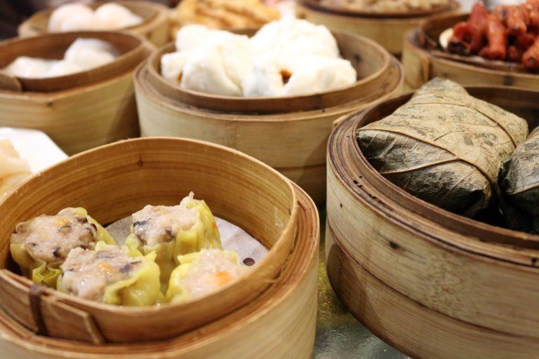 dim sum beignet chinois