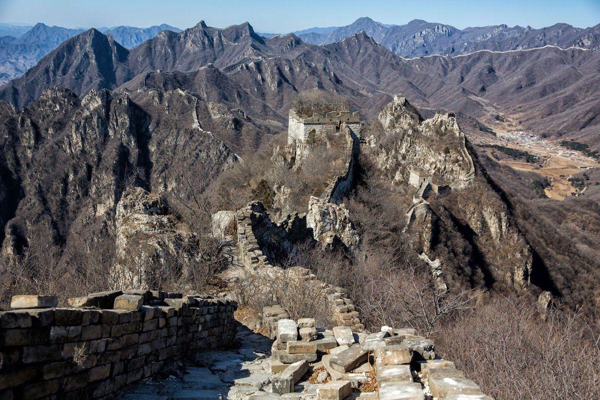 Muraille de Chine de jiankou