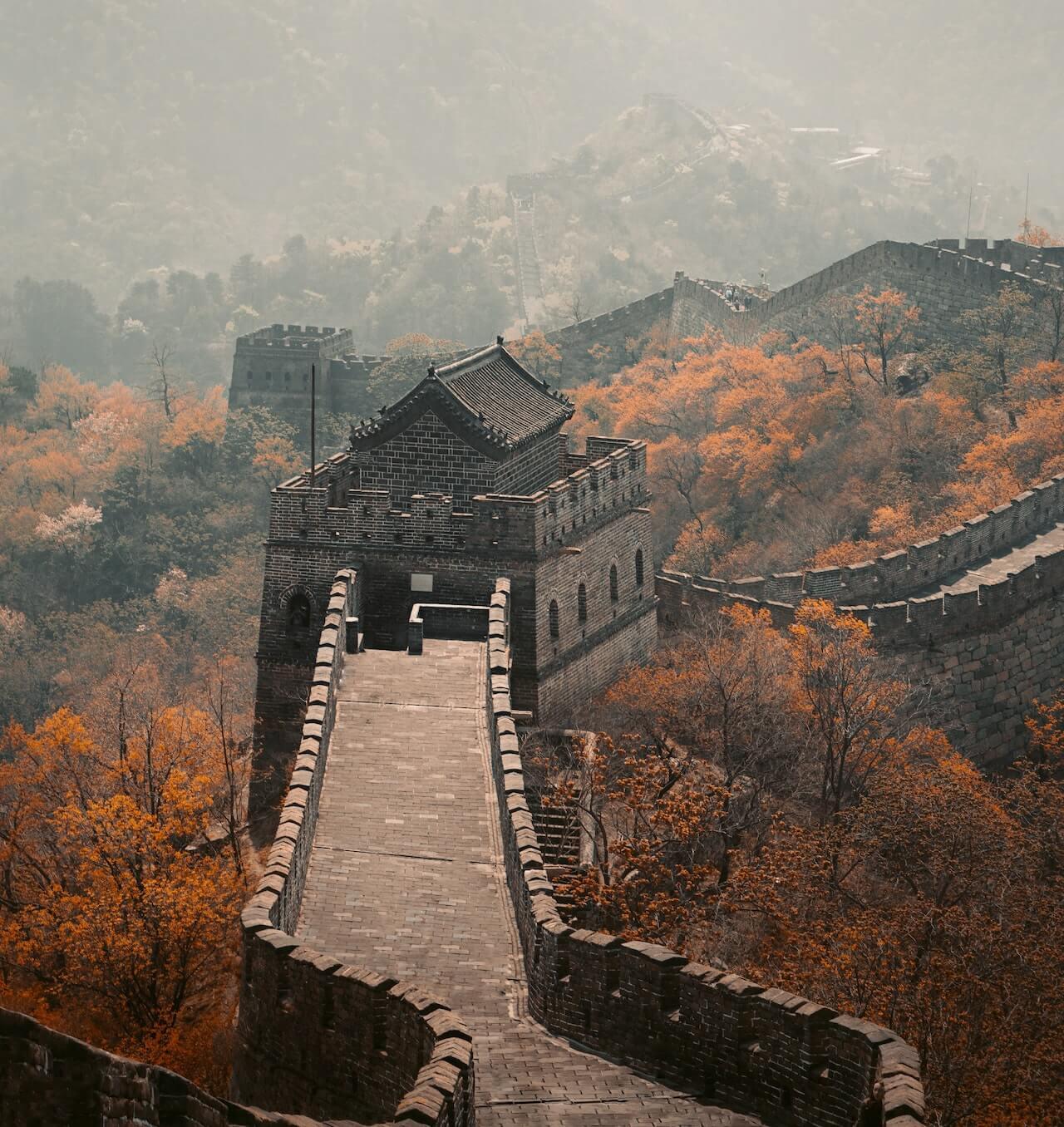 meilleur moment pour visiter la muraille de chine